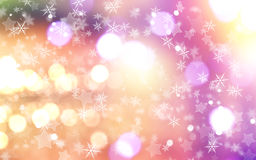 Christmas background with snowflakes and stars. Decorative Christmas background with snowflakes and stars Royalty Free Stock Photos