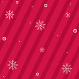 Christmas Background With Snowflakes. Vector Royalty Free Stock Image
