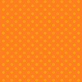 Christmas background with snowflakes. Vector orange image Royalty Free Illustration