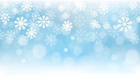 Christmas Background, Snowflakes, Wallpaper, Snow. Vector Illustration of Christmas Background. Best design for Christmas, Backgrounds, Design Element Royalty Free Illustration