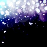 Christmas background with snowflakes, winter vector illustration.bokeh background, festive defocused lights. Christmas background with snowflakes, winter vector Stock Photo