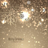 Christmas background with snowflakes. Christmas background for your design Stock Photo