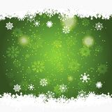 Christmas background with space for text. Green christmas background with space for text Stock Photo