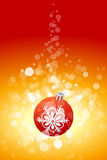 Christmas background with sparkles Royalty Free Stock Photo