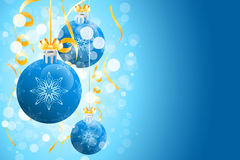 Christmas background with sparkles Royalty Free Stock Photography