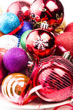 Christmas background with Sparkling twinkling colourful Christma Royalty Free Stock Photo