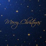 Christmas starry background. Christmas background with a starry design royalty free illustration