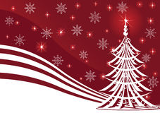 Christmas background with stars Royalty Free Stock Images