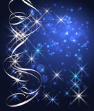 Christmas background with stars Royalty Free Stock Photos