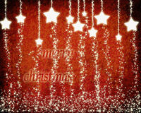 Christmas background with stars. Stock Image