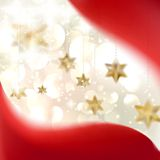 Christmas background with stars. EPS 10 Royalty Free Stock Photography