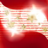 Christmas background with stars. EPS 10 Royalty Free Stock Photos