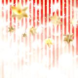 Christmas background with stars. EPS 10 Stock Images