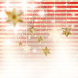 Christmas background with stars. EPS 10 Royalty Free Stock Photo