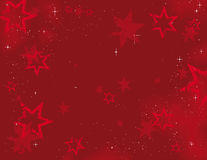Christmas Background Stars Royalty Free Stock Image