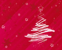 Christmas Background Stars. Vector Illustration Royalty Free Stock Photography