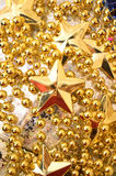 Christmas background with stars Royalty Free Stock Photo