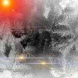Christmas background with stars Stock Photo