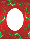 Christmas Background Template 3 Royalty Free Stock Images