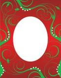 Christmas Background Template 3 stock illustration
