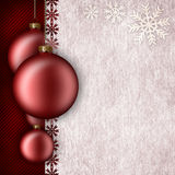 Christmas background template vector illustration