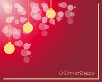 Christmas Background. Template for  seasonal cards and event, posters Stock Photos