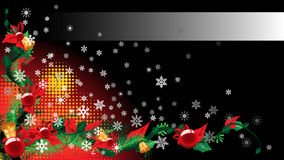 Christmas background for text Stock Photo