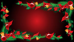 Christmas background for text. Place your text in center Stock Photos