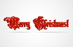 Christmas background. With text. Vector illustration Royalty Free Stock Photo