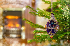 Christmas background with toys Christmas . Stock Photography
