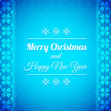 Christmas Background with traditional norwegian pattern Royalty Free Stock Photo