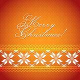 Christmas Background with traditional norwegian pattern Royalty Free Stock Photos