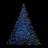 Christmas background, tree Royalty Free Stock Photography