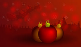 Christmas Background. With Christmas tree Royalty Free Stock Photography