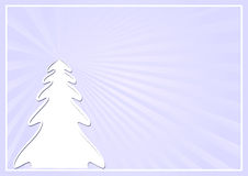 Christmas background. With Christmas tree Royalty Free Stock Image