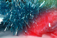 Christmas Background with tree decorations. Christmas card Royalty Free Stock Photo