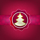 Christmas background and tree. + EPS8. Vector file Vector Illustration