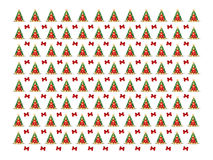 Christmas background. With Christmas trees Royalty Free Stock Photo