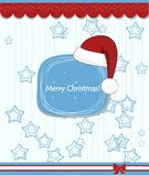 Christmas Background With Typography Stock Photography