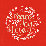 Christmas Background with Typography, Lettering Stock Images