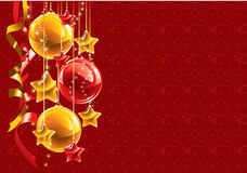 Christmas background. Vector. Royalty Free Stock Images