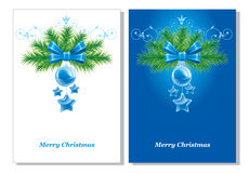 Christmas background. Vector. Royalty Free Stock Image