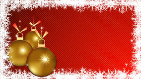 Christmas background vector. Christmas background with ornament balls Royalty Free Stock Photography