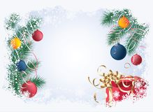 Christmas background , vector Royalty Free Stock Photography