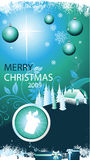 Christmas background vector Stock Images