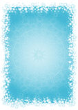 Christmas background,vector. Blue christmas background with snowflakes,vector illustration Stock Photography