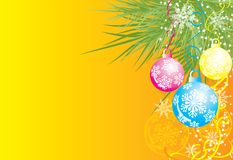 Christmas background, vector Royalty Free Stock Images