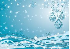 Christmas background, vector Royalty Free Stock Photos