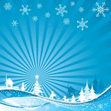 Christmas background, vector Stock Photo
