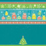 Christmas background, vector Stock Image